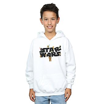 Star Wars drenge kiddie logo hættetrøje