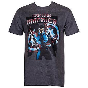 Nouveau Captain America Men-apos;s T-Shirt