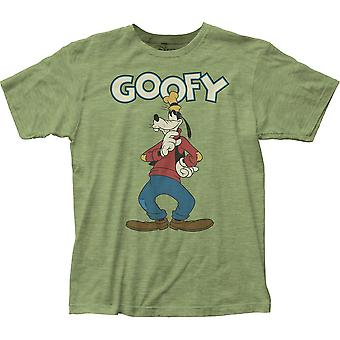Goofy Classic Green Tee Shirt