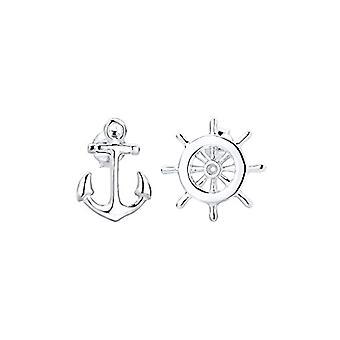 Elli Silver Women's Stud Earrings - 301362615
