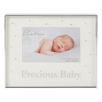 Widdop Bambino Precious Baby Silver Plated Photo Frame