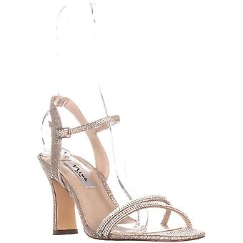 Nina Womens Avalon Open Toe Formal Ankle Strap Sandals