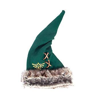 Zelda Beanie Hat Furry Pointy Hyrule Logo Cosplay nowy oficjalny Nintendo Green