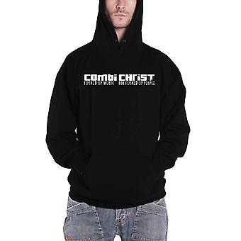 Combichrist Hoodie Combichrist Army Band Logo new Official Mens Black Pullover
