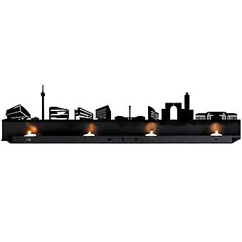 RADIUS lys Stuttgart fyrfadslys indehaver - 711 g
