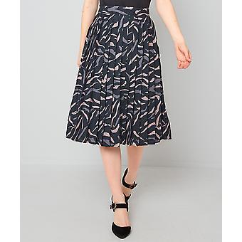 Joe Browns Womens veckat Tiger Print MIDI kjol