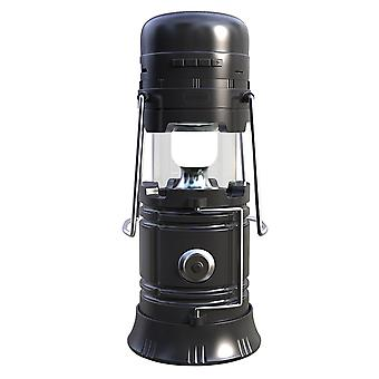 Music Lamp All-in-one camping speaker-Black