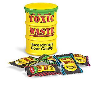 Toxic Waste Hazardously Yellow Drum Sour Candy