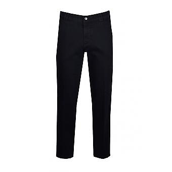 Meyer Cotton calças Navy