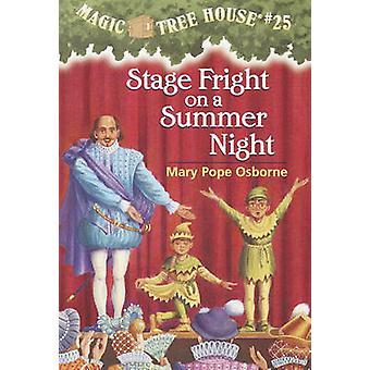 Stage Fright on a Summer Night by Mary Pope Osborne - Salvatore Murdo