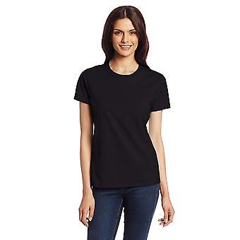 Hanes Women's Nano T-Shirt, Medium, Black, Black, Size Medium