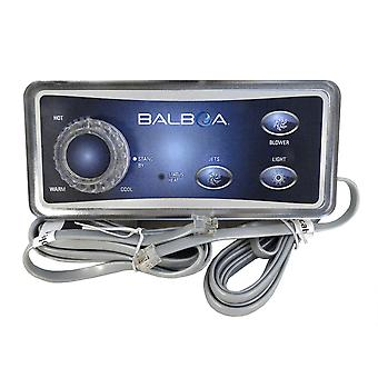 Balboa 51221 Analog 3-Button with T-Stat Knob Topside Control panel
