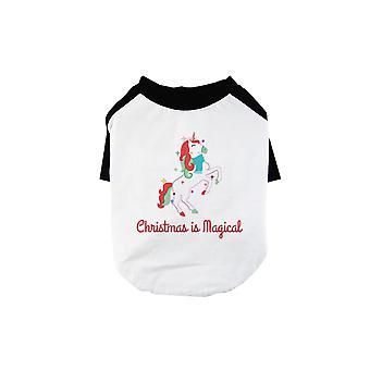 Christmas Magical Unicorn Funny BKWT Pets Baseball Shirt X-mas Gift