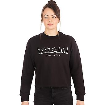 Tatami Fightwear Women's Cropped Pullover Sweatshirt - Black