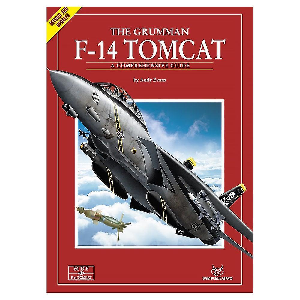 Book - Aircraft & Models Modellers Datafile 35 The Grumman F-14 Tomcat  BOOK