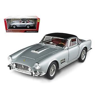 Ferrari 410 Superamerica Silver 1/18 Diecast Car Model par Hotwheels