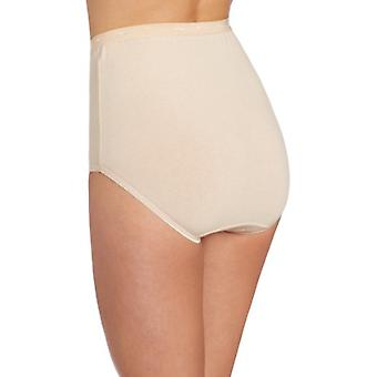 Bali Women's Stretch Brief Panty, Soft Taupe, 9, Soft Taupe, Size 9.0