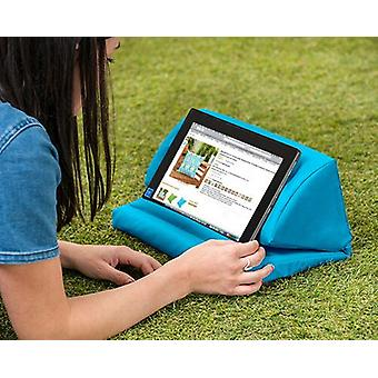 Turquoise Outdoor iPad Kindle Tablet Boek Stand Kussen Lap Rest Cushion