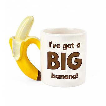 Bigmouth den stora banan kaffemugg
