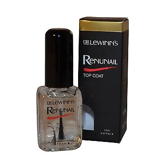 Dr Lewinns Renunail Top Coat 14ml