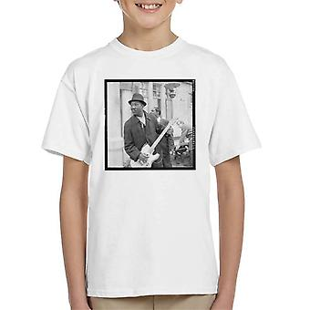 TV-Zeiten Muddy Waters Blues und Gospel Train 1964 Kinder T-Shirt