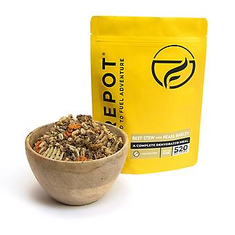 Firepot Beef Stew with Pearl Barley Dehydrated Camping Food 110g