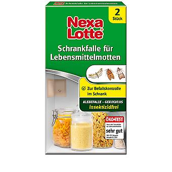 NEXA LOTTE® cupboard trap for food moths, 2 pieces