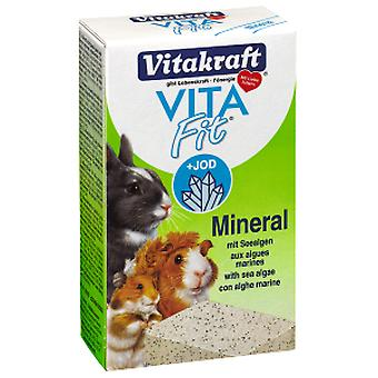 Vitakraft Mineral Stone Rodents 168 g (Small pets , Food Supplements)