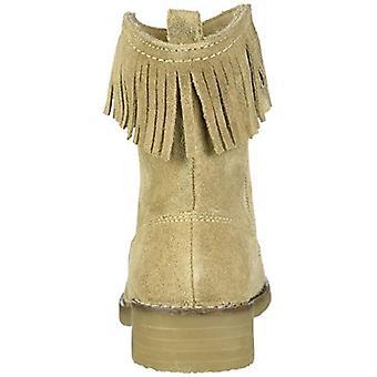 Polo Ralph Lauren Kids Girls & Apos; Zyla Fashion Boot, Sand, M025 M US Little Kid