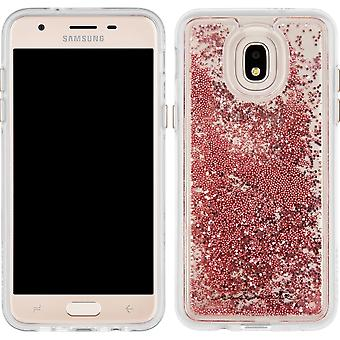 Case-Mate Waterfall Case for Samsung Galaxy J3 2018 (3rd Gen) - Rose Gold