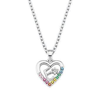 Princess Lillifee Kids Necklace Silver Letter Necklace E Girls 2027880