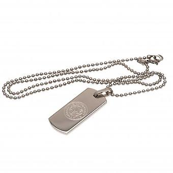 Leicester City Narrow Pendant & Chain DT