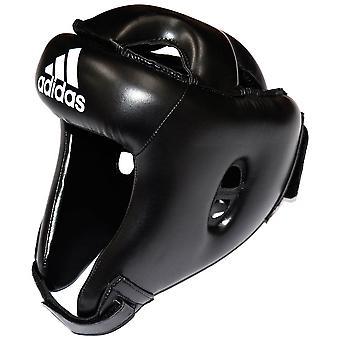 adidas Boxe Rookie Headuard MMA Sparring Head Protection Noir