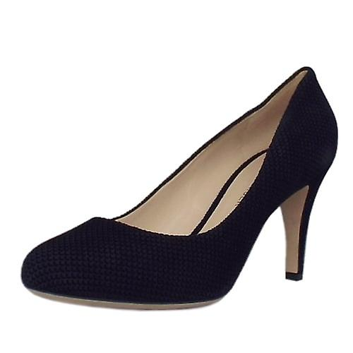 Peter Kaiser Pascale Court Shoe In Notte Moon Suede qn9HS
