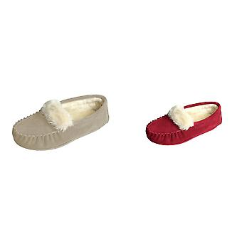 Eastern Counties Leather Womens/Ladies Zoe Plush Lined Moccasins