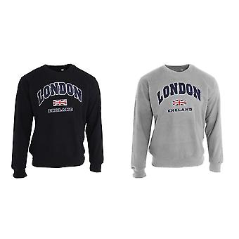 Unisex Sweatshirt London England British Flag Design