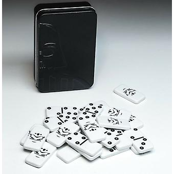 Star Wars Galactic Empire Dominoes Collectable Tin Licensed Game
