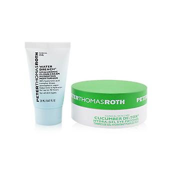 Peter Thomas Roth Drench & De-tox 2-teiliges Kit: Hydrating Moisturizer 20ml + Gurkenaugen-Patches 15pairs - 2pcs