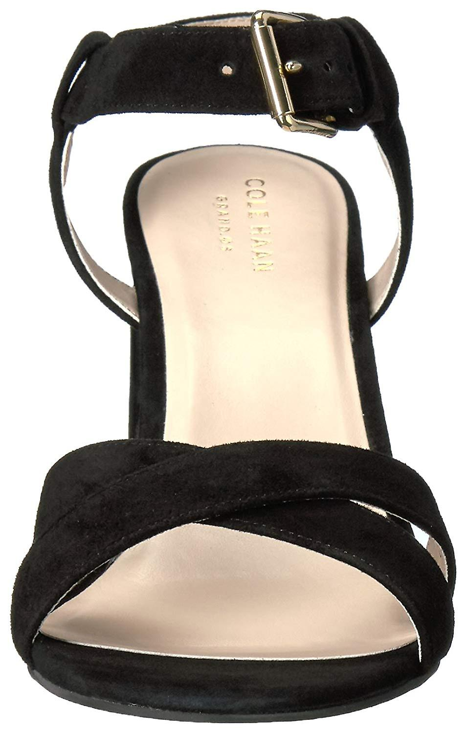 Cole Haan Womens W08720 Suede Open Toe Casual Ankle Strap Sandals