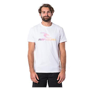 Rip Curl The Surfing Company Short Sleeve T-shirt in optisch wit