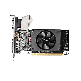 Gigabyte Gt710 Low Profile Ddr3 Graphics Card Pci Express X16 2 Boost