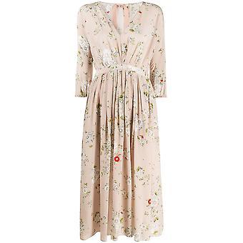 N°21 20en2m0h2335531s4y1 Women's Beige Silk Dress