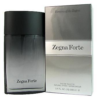 Zegna forte for men by ermenegildo zegna 3.4 oz eau de toilette spray