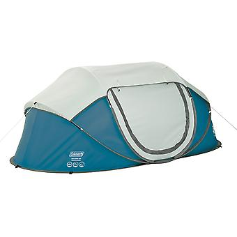 Coleman Galiano 2 Man FastPitch Pop Up Tent Blue Instant Pitch Festival Weekend
