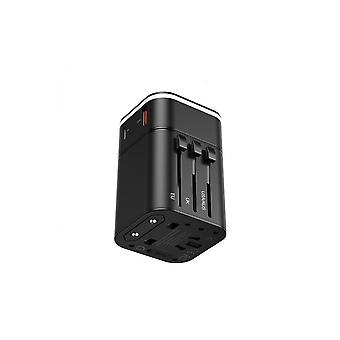 Universal Travel Adapter Removable 2 In 1 To Fast-Charging Baseus