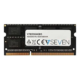 V7 V785004GBS V7 4GB DDR3 PC3-8500 - 1066mhz SO DIMM Notebook Memory Module - V785004GBS