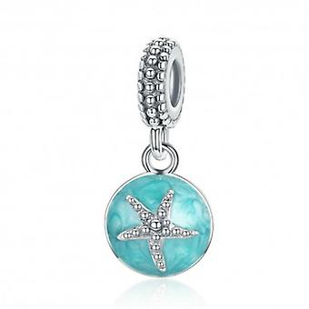 Sterling Silver Pendant Charm Starfish - 5939