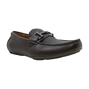 Alfani menns len driver Leather Square toe slip på sko