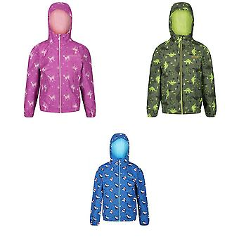 Regatta Girls Ellison Printed Waterproof Jacket