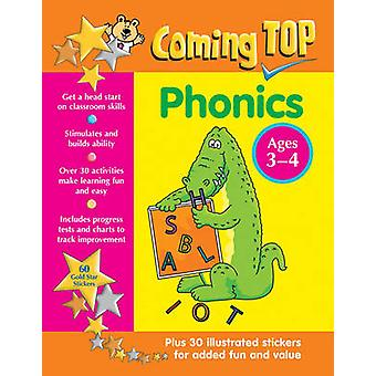 Coming Top - Phonics - Ages 3-4 - 60 Gold Star Stickers - Plus 30 Illus
